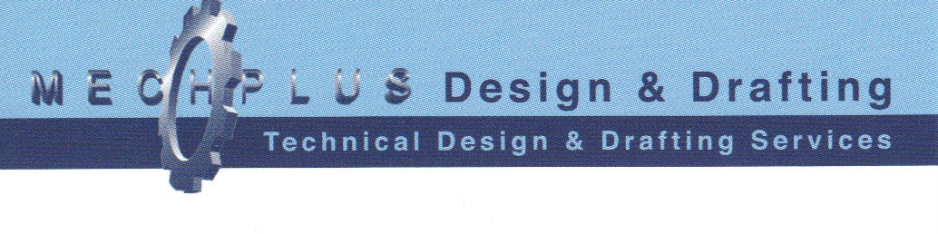 Logo Mech-Plus Design & Drafting